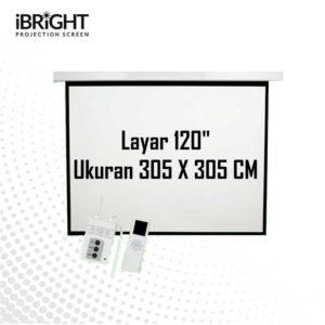 iBRIGHT Electric Screen BMR120